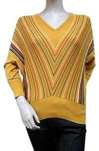 Tulle Mustard Chevron Sweater