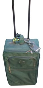 Tumi Suitcase Sturdy Durable forest green Travel Bag