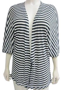 Twelfth St. by Cynthia Vincent Street Beige Striped Cardigan 50911pk Sweater
