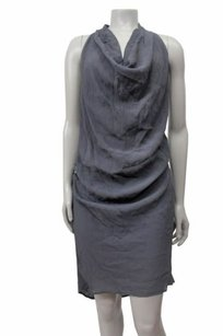 Twelfth St. by Cynthia Vincent short dress Gray Street Cowl Neck Racer Back on Tradesy