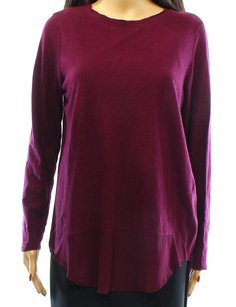 Vince Camuto 100-cotton Long-sleeve Top