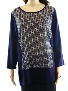 Vince Camuto 3/4 Sleeve 9035685 Top