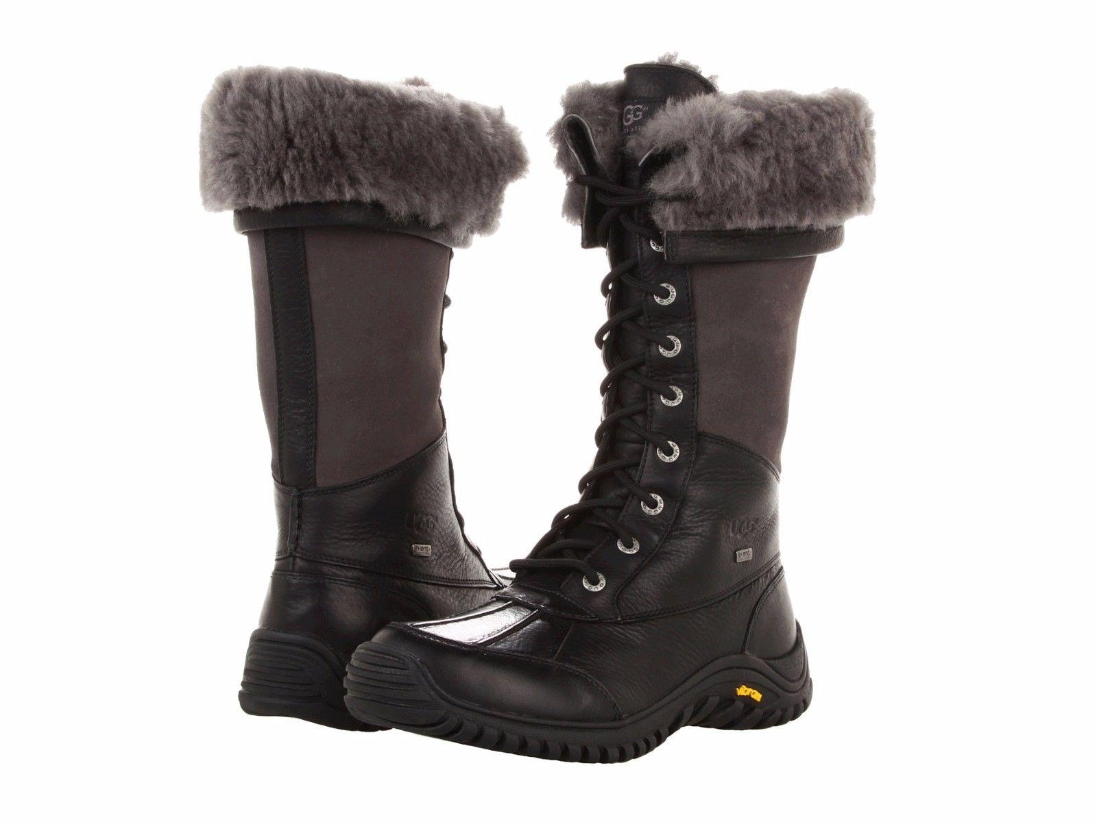 UGG Australia For Her 1001786 Size 8.5 Black Boots ...