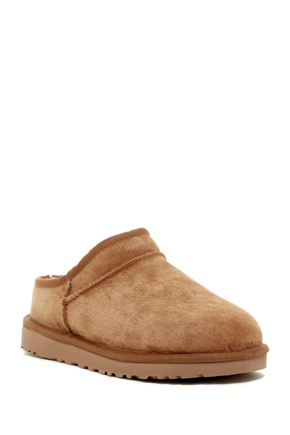UGG Australia Suede Shearling Slippers store for sale cheap price outlet outlet order XL3sBG