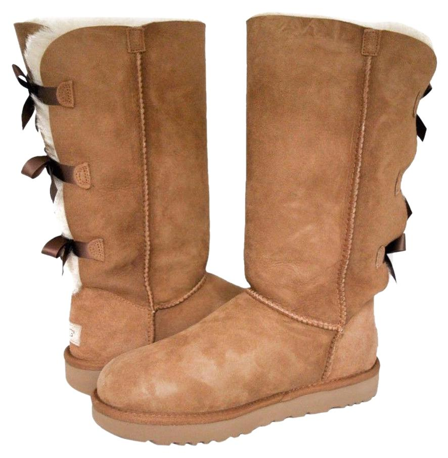 UGG Australia Sheos For Her 1016434 Size 8 Chestnut Boots ...