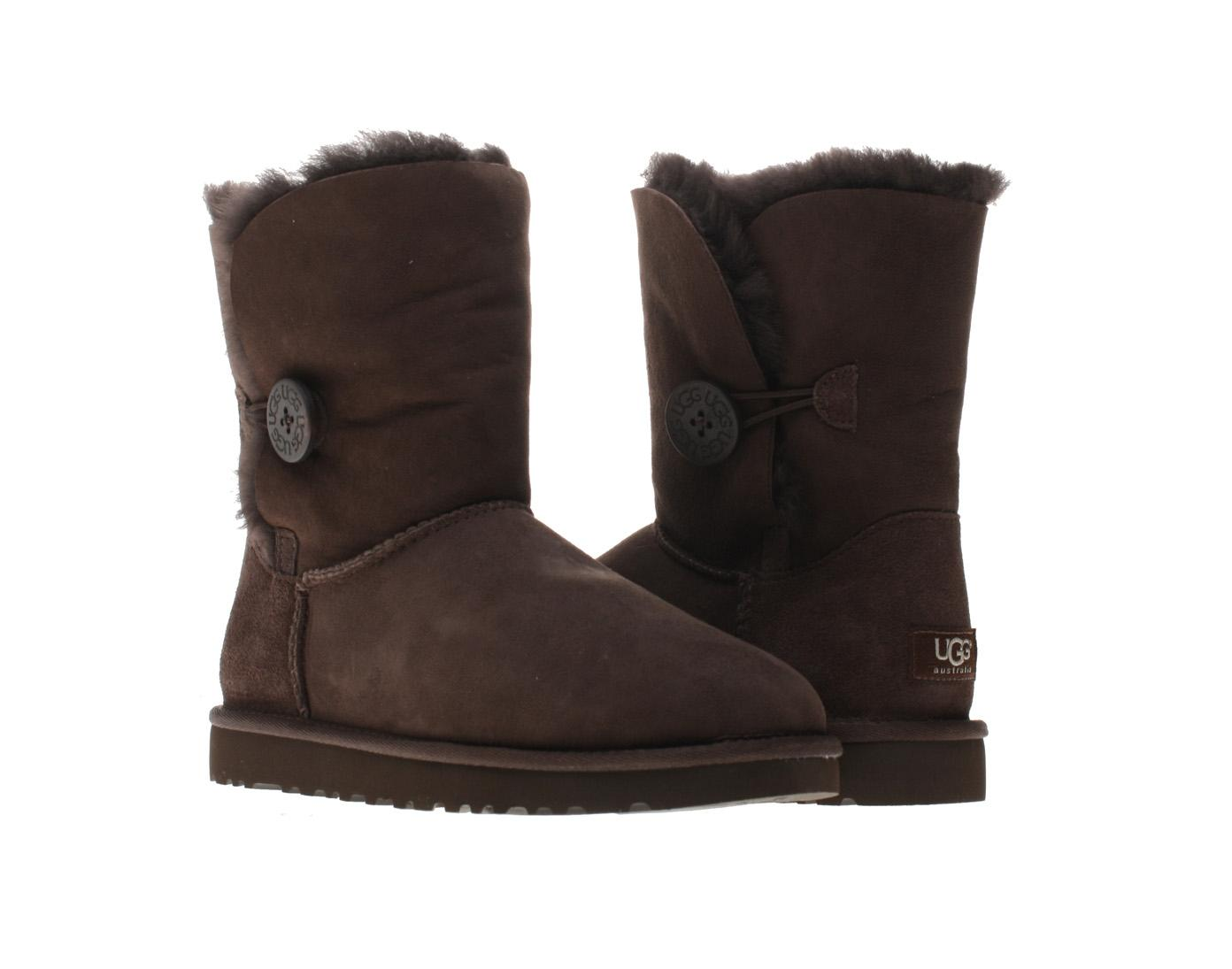 4aef1a1a3f816 ... new arrivals ugg australia bailey button 5808 chocolate boots 07d7c  7d1f4 ...