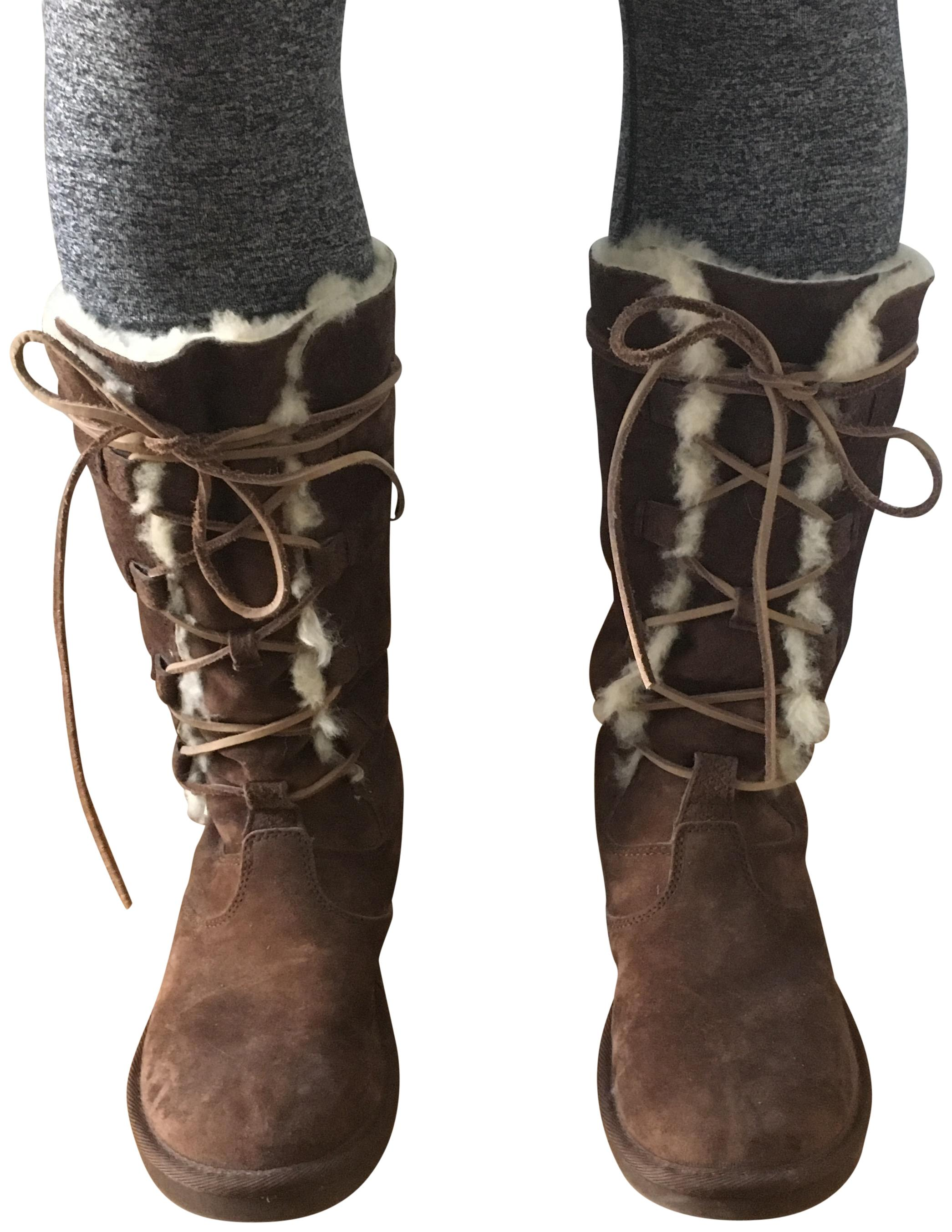 UGG Australia Winter Suede Warm Uggs Chocolate Boots ...