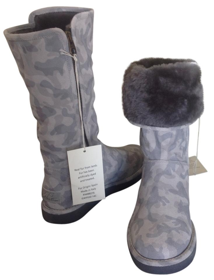 ugg tall gray boots