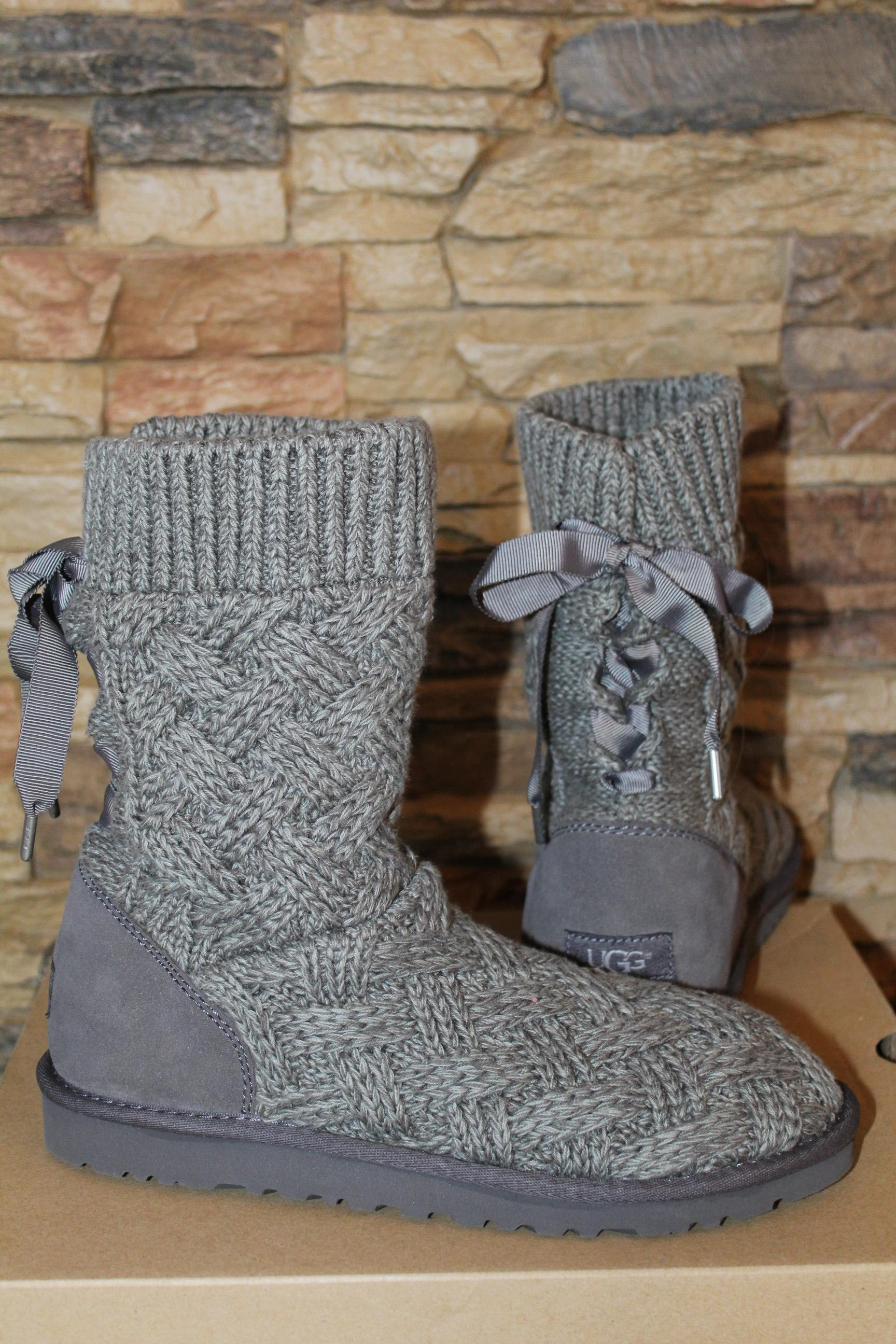 UGG Australia Gris Pull Isla 2337 Pull et Suede Bottes// Bottines Taille US 9 38e8bee - christopherbooneavalere.website