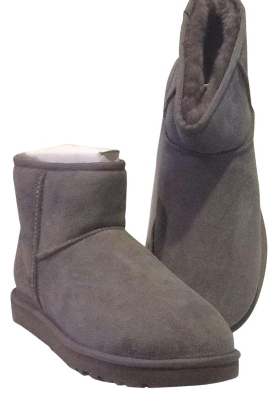 UGG Australia New With Tags Shearling Grey Boots ...
