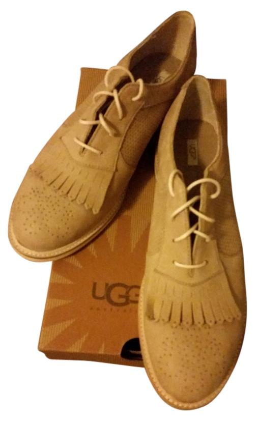 UGG Australia Oxford Leather tan Flats ...