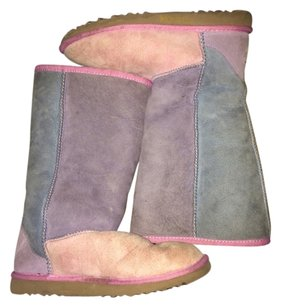 UGG Boots Multi Color (Light Blue, Pink And Purple) Boots