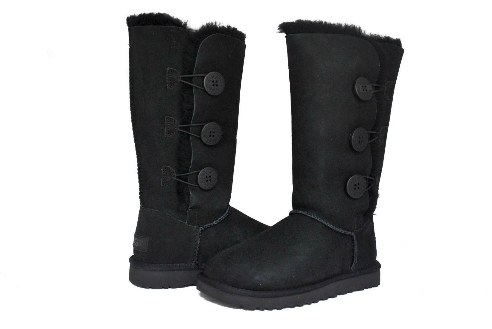 aa7c6573ec2 authentic ugg boots womens bailey button triplet 4681a b95b9