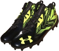 Under Armour Black Neon Green Mens Ua Ripshot Mid Mc #0: under armour black neon green athletic 0 1 width=203&height=307