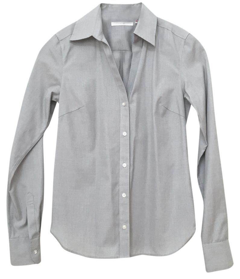 well-wreapped Uniqlo Grey Button Down Shirt - www.cima-afrique.net
