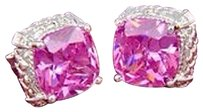 Unknown Pink Topaz SS Studs