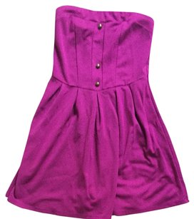 Urban Outfitters short dress Magenta on Tradesy