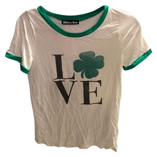 Urban Outfitters T Shirt Green White