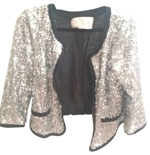 Urban Outfitters Silver sequins Blazer