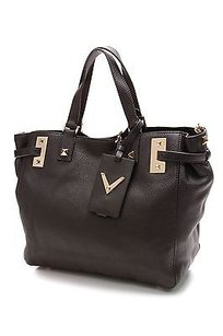 Valentino Shoppers Tote in Black