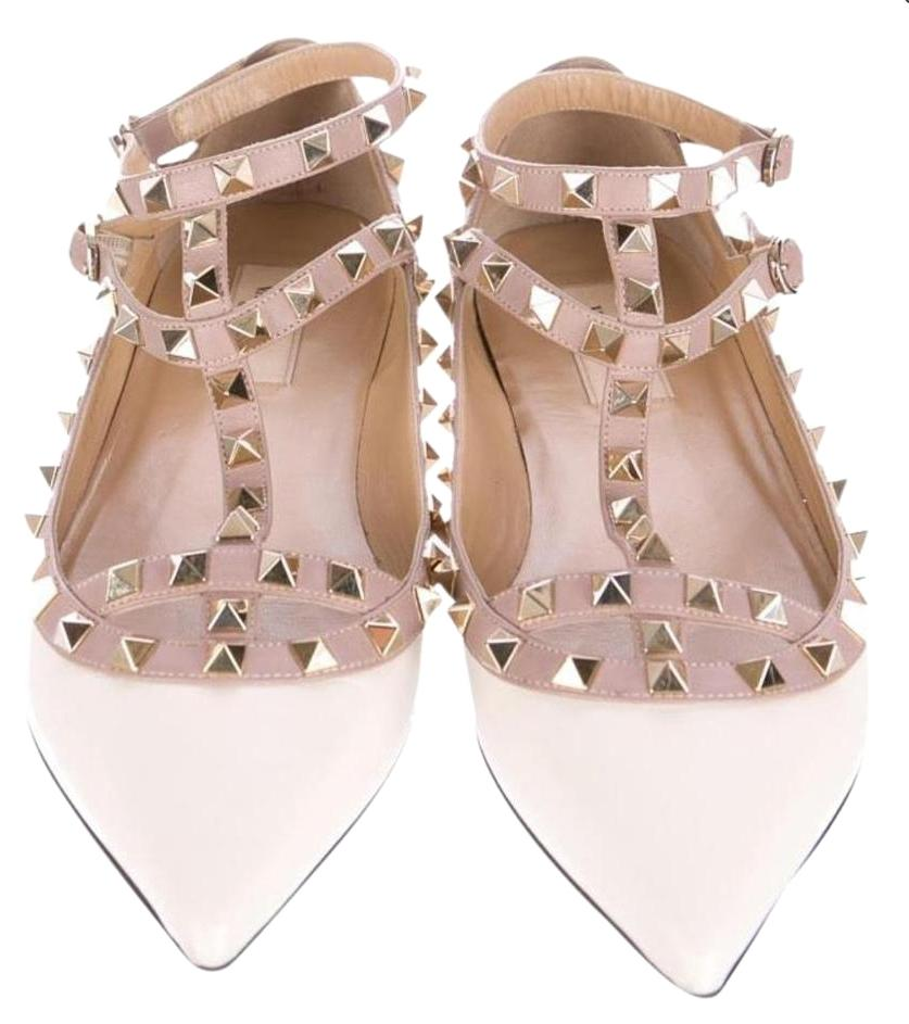 cheap sale websites Valentino Jewel-Embellished Rockstud Flats w/ Tags best seller cheap online buy cheap with mastercard WDdHu2oF