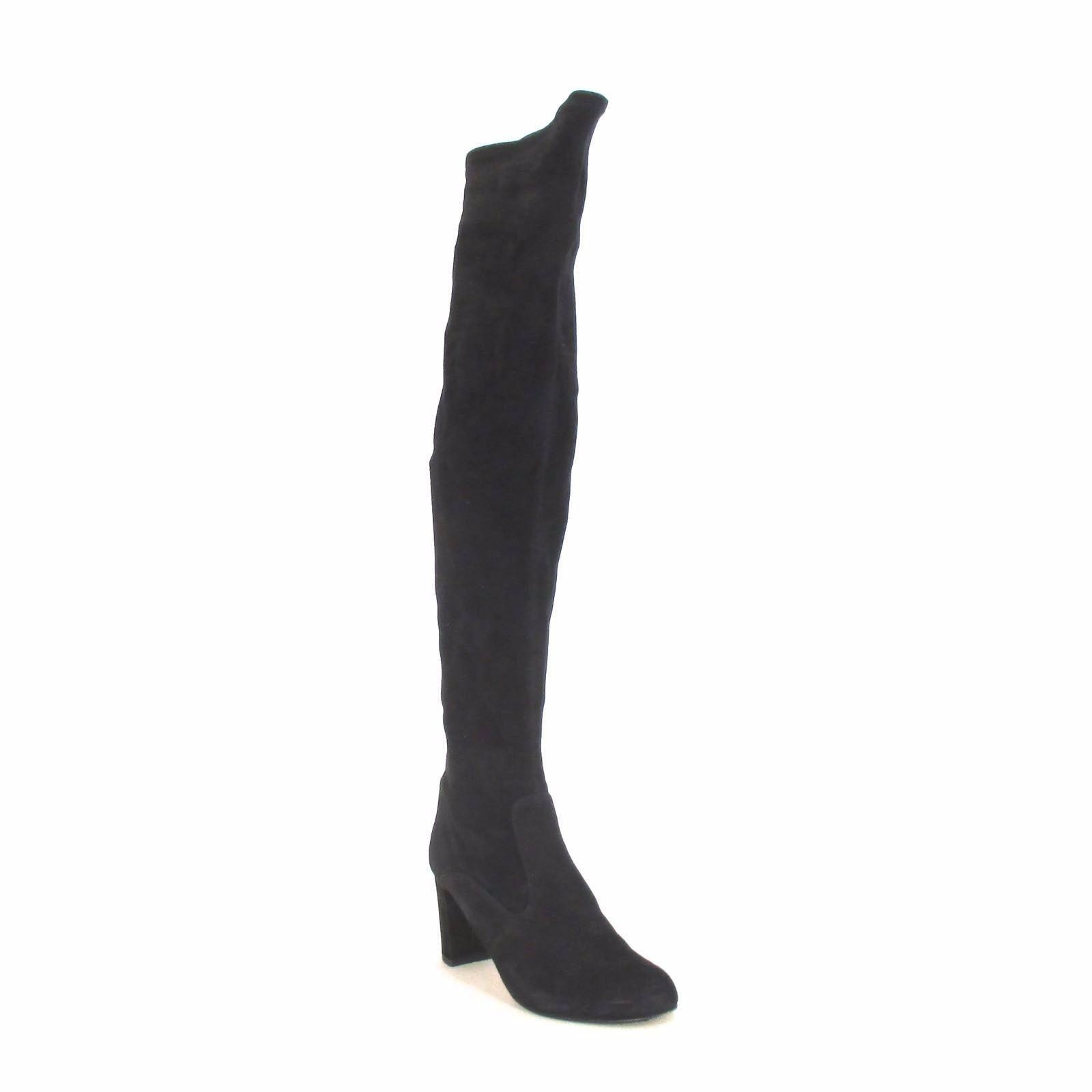 Valentino Black Over The Knee Boots/Booties Size US 7.5 Regular (M, B)