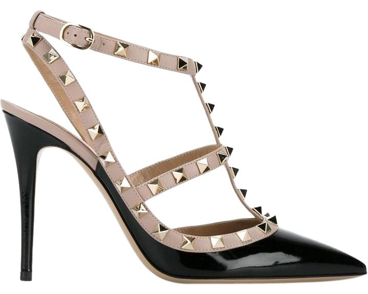 Valentino Black 9 Rockstud Pumps Size US 9 Black Regular (M, B) 901df8