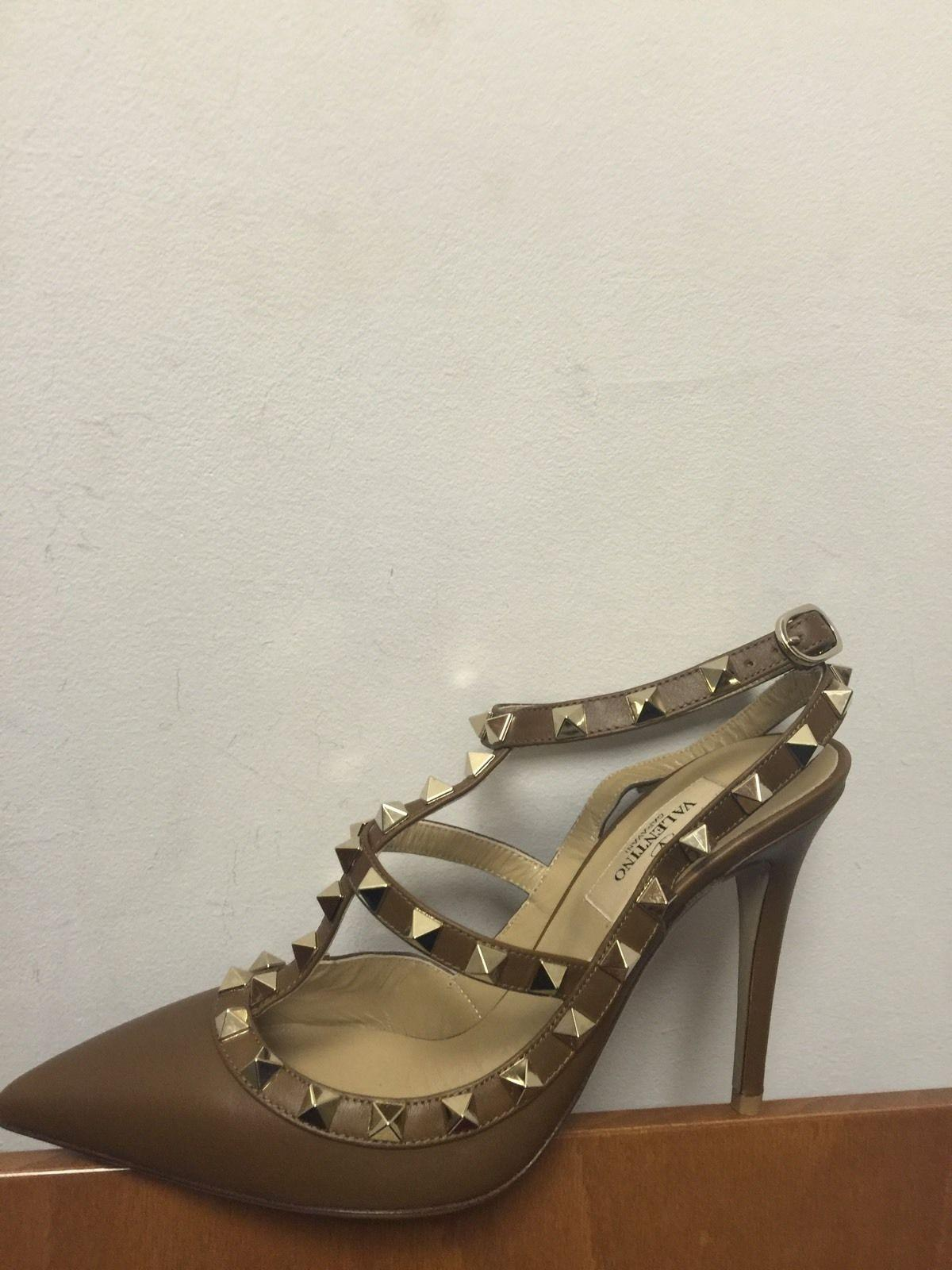Valentino Brown Rockstud Eur 36 Pumps Size US 6 Regular (M, B)