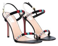 Valentino Embroidered Tribal Multi Sandals