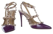 Valentino Grape Pumps