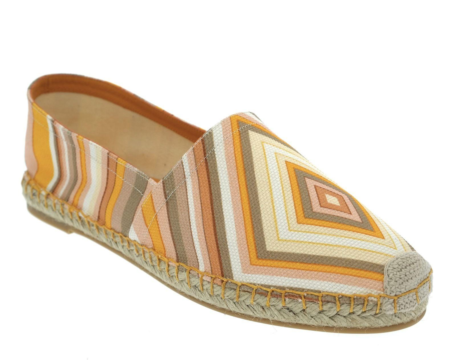 Valentino Mandarin Native Couture Espadrille Flats Size US 9 Regular (M, B)
