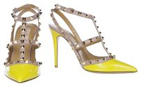 Valentino Naples Yellow Pumps