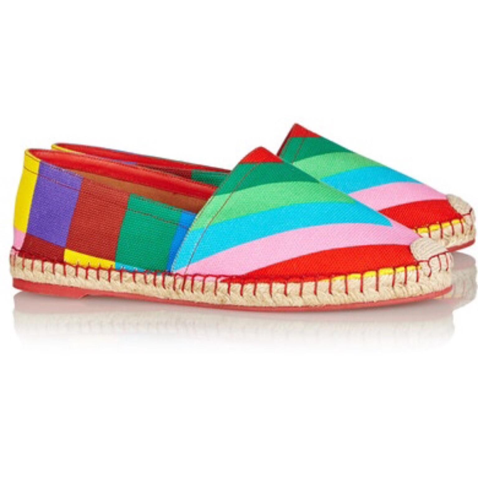 Valentino 1973 Canvas Espadrilles clearance pay with visa shop offer cheap online 100% original for sale D9bvpOV
