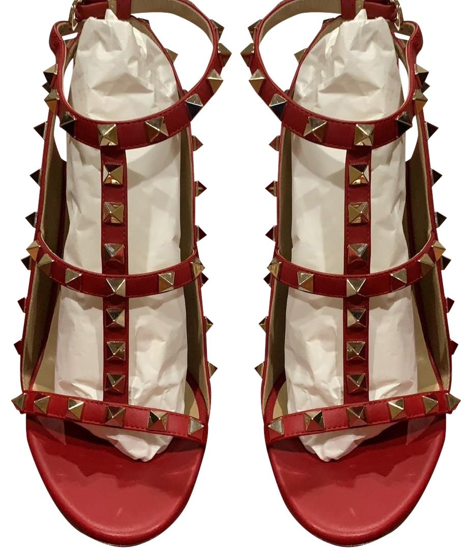 Valentino Red and Gold. Check Pictures Formal Shoes Size EU 36 (Approx. US 6) Regular (M, B)