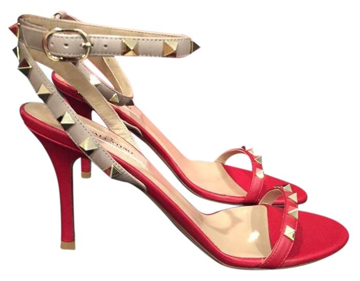 cheap sale 2014 Red Valentino Studded Ankle-Strap Sandals 100% guaranteed online free shipping new hnp5cHQ1M