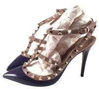 Valentino Rockstud Spike Matte purple Pumps