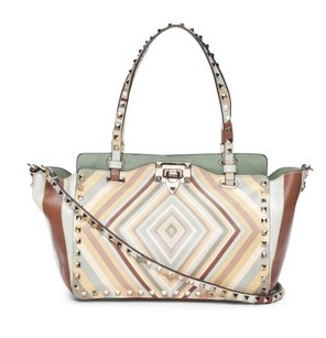 Valentino Rockstud Trapeze Shoulder Bag
