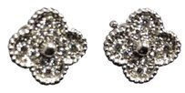 Van Cleef & Arpels Van Cleef & Arpels Vintage Alhambra Earrings white gold