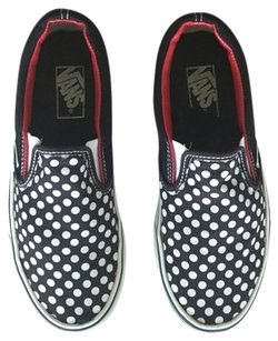 Vans Slip-ons Dot Black with white polka dots Athletic