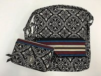 Vera Bradley Black White Cross Body Bag