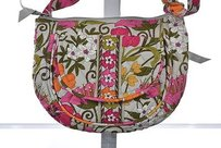 Vera Bradley Womens Shoulder Bag