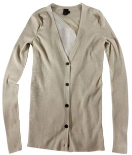 Vera Wang Cardigan Ribbed Sweater