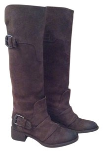 Vera Wang Lavender Label dark brown Boots