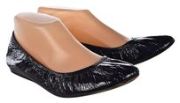 Vera Wang Lavender Womens 9m Slip On Patent Leather Navy Flats