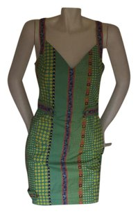 Versace short dress multi color on Tradesy
