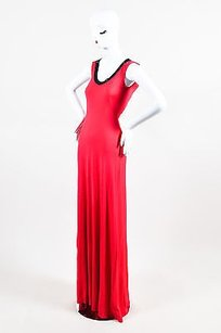 Red Maxi Dress by Versace Versus Gianni