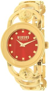 Versace Versus by Versace Women's Carnaby Street Gold Stainless-Steel Quartz W