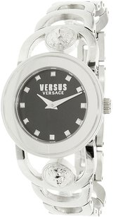 Versace Versus by Versace Women's Carnaby Street Silver Stainless-Steel Quartz