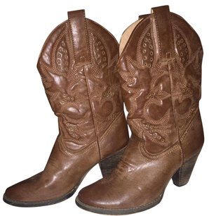 Very Volatile Brown/Tan Boots