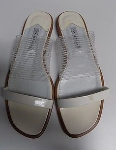 Via Spiga Beige And Brown Sandals
